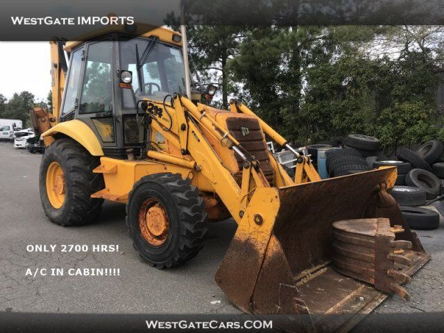 2000 JCB BACKHOE 214 SERIES2  Raleigh NC