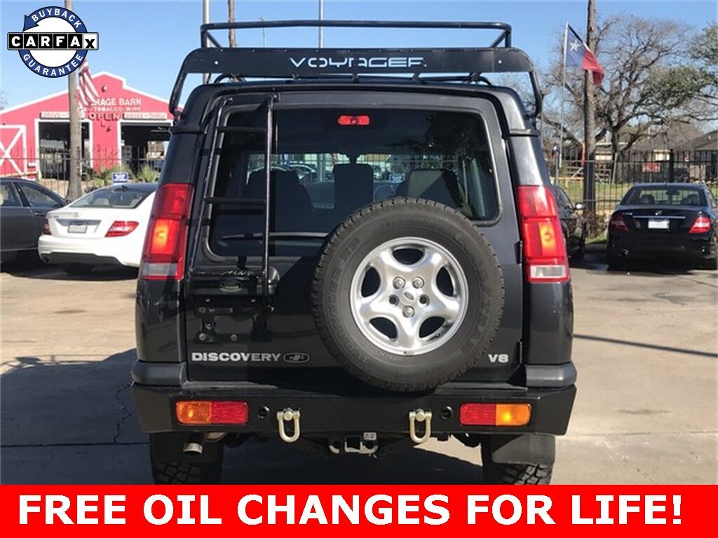 2000 Land Rover Discovery Series II Houston TX