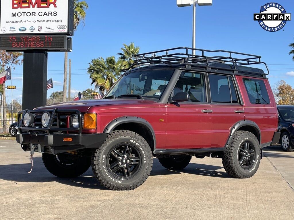 2000_Land Rover_Discovery_Series II_ Houston TX