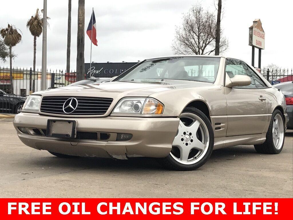 2000_Mercedes-Benz_SL-Class_SL 500_ Houston TX