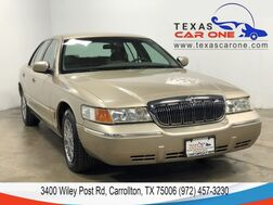2000_Mercury_Grand Marquis_GS AUTOMATIC LEATHER SEATS CRUISE CONTROL ALLOY WHEELS_ Carrollton TX