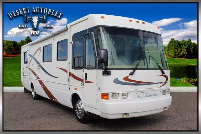 2000 National Tradewinds 7372 Single Slide Class A Diesel RV Mesa AZ