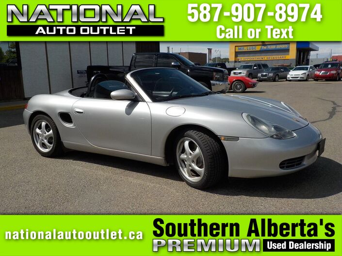 2000 Porsche Boxster Convertible - LOW KLMS, CLEAN CARPROOF Lethbridge AB