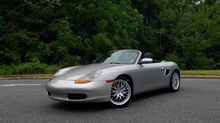 2000_Porsche_Boxster_Convertible / 5-Speed Manual / Power Top / Kenwood_ Charlotte NC