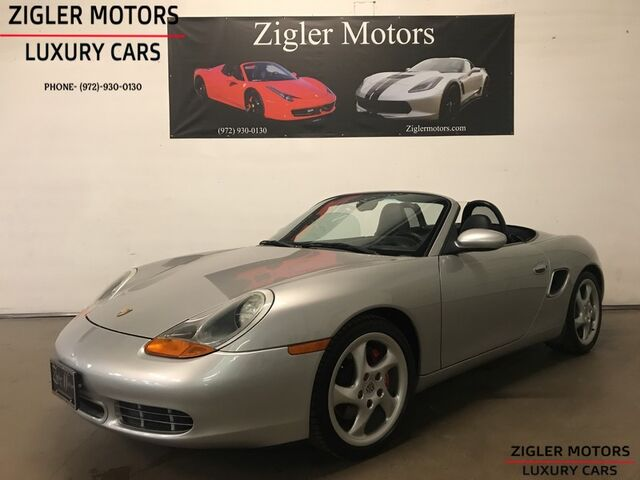 2000 Porsche Boxster S 6-Speed Manual 1- Owner Clean Carfax Beauty! Addison TX