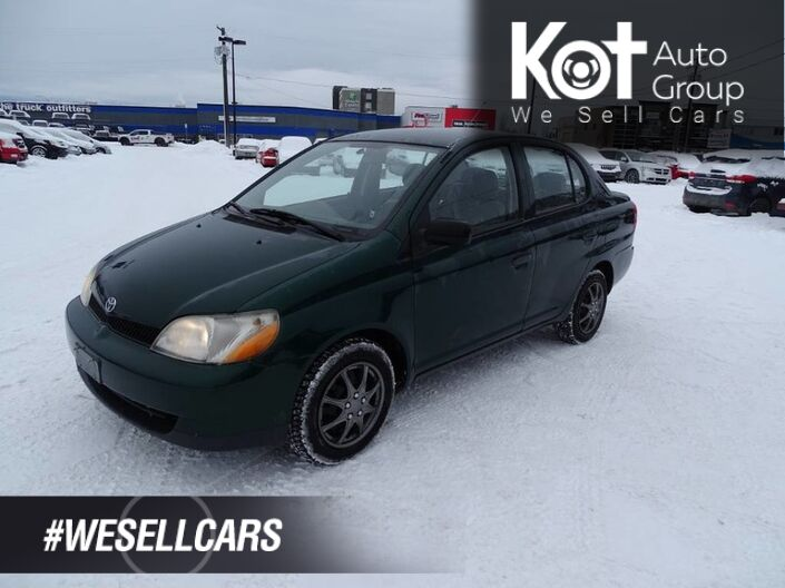 2000 Toyota Echo Manual Transmission, Good Condition Kelowna BC
