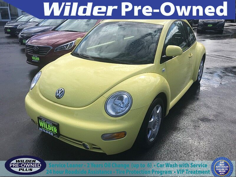 2000 Volkswagen Beetle 2d Coupe GLX Turbo AT