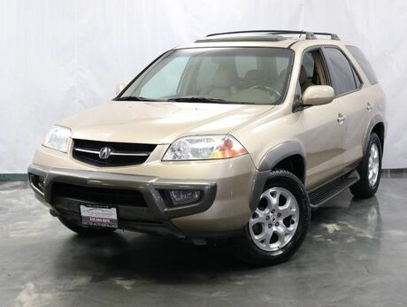 2001 Acura MDX Touring Pkg / 3.5L V6 Engine / AWD / Sunroof / Navigation / 3rd Row Seats / Heated Leather Seats Addison IL