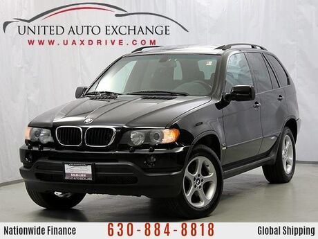 2001 BMW X5 3.0L V6 Engine AWD w/Sunroof Addison IL