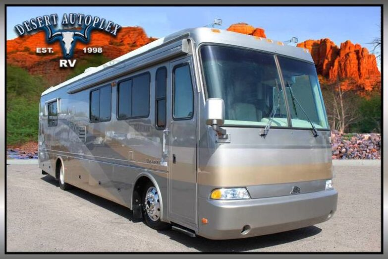 2001 Beaver Patriot 37 Ticonderoga Double Slide Class A RV Mesa AZ