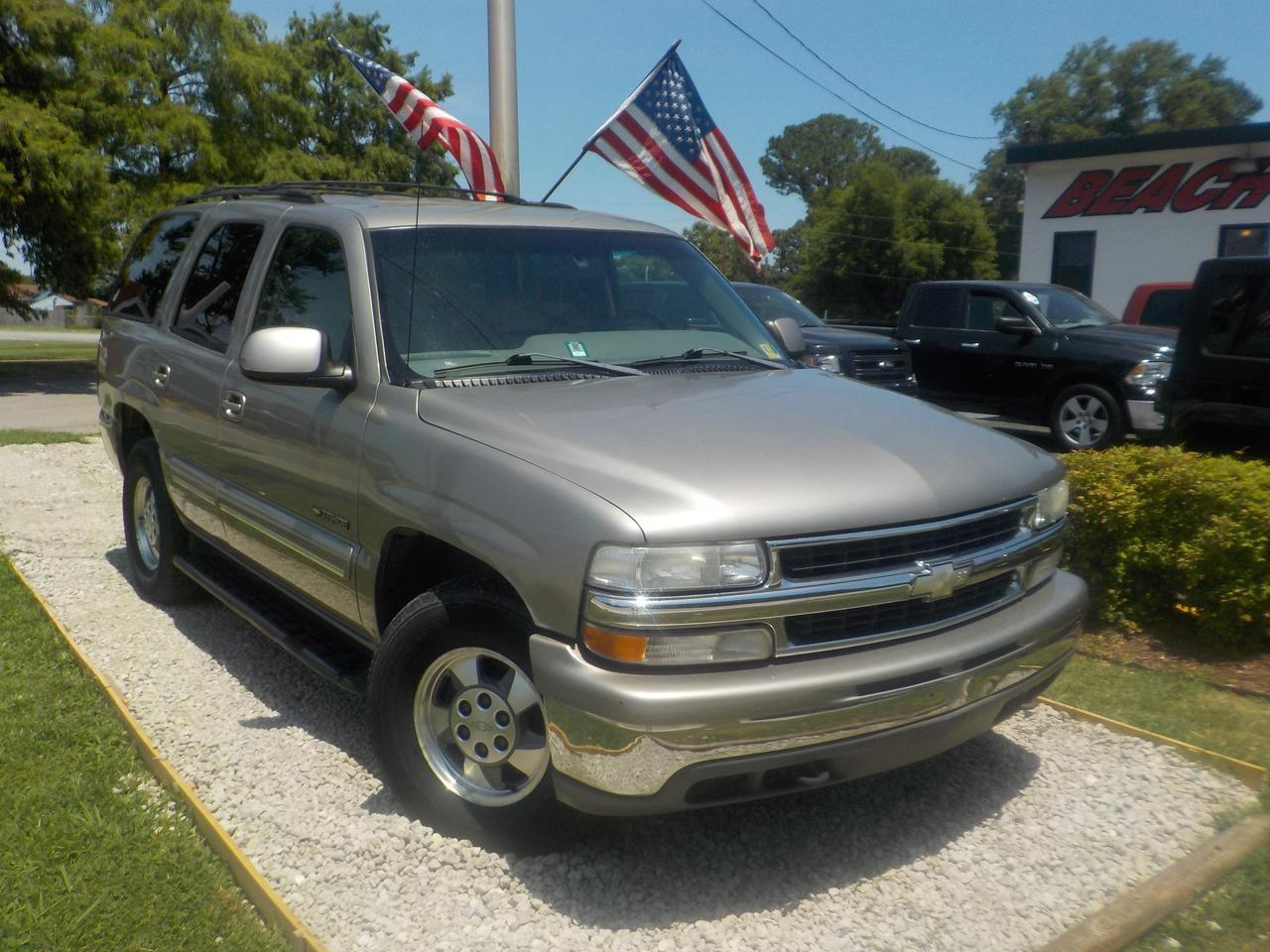 2001 CHEVROLET TAHOE LT 4X4, WHOLESALE TO THE PUBLIC! GET IT BEFORE IT GOES TO AUCTION! 3RD ROW, LEATHER, HEATED SEATS!