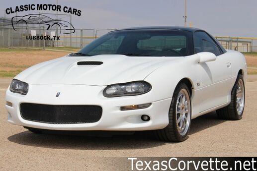 2001 Chevrolet Camaro SS Z28 Lubbock TX