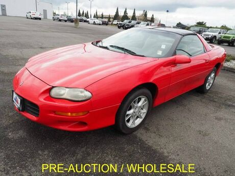 2001 Chevrolet Camaro T-TOPS PRE-AUCTION Burlington WA