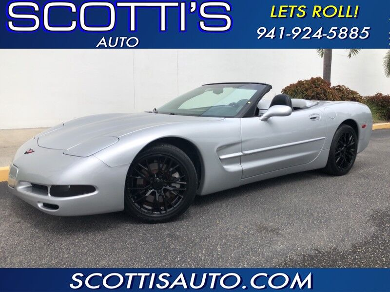 2001 Chevrolet Corvette CONVERTIBLE~ ONLY 78K MILES~ CLEAN CARFAX~ AUTOMATIC~ Sarasota FL