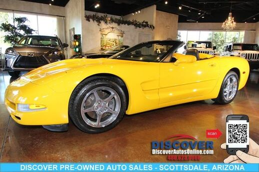 2001 Chevrolet Corvette Convertible 2D Scottsdale AZ