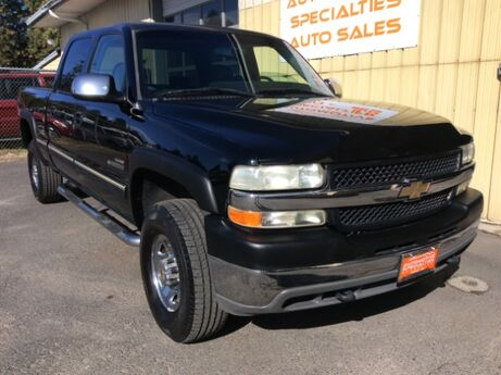 2001 Chevrolet Silverado 2500HD Diesel Crew Cab 4WD Spokane WA
