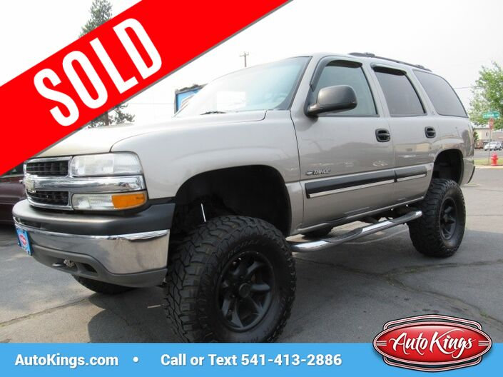 2001 Chevrolet Tahoe 4dr 4WD LS Bend OR