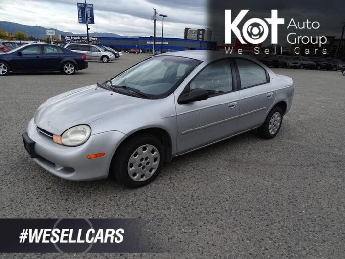 2001 Chrysler Neon New Battery and Alternator Kelowna BC