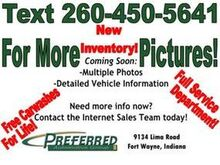 2001_Chrysler_Sebring_LX_ Fort Wayne Auburn and Kendallville IN