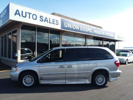 2001 Chrysler Town & Country Limited Spokane Valley WA