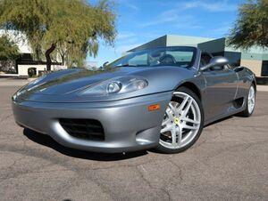 2001_Ferrari_360_Spider_ Scottsdale AZ