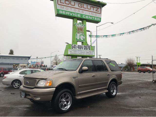 2001 Ford Expedition Eddie Bauer 4WD Eugene OR