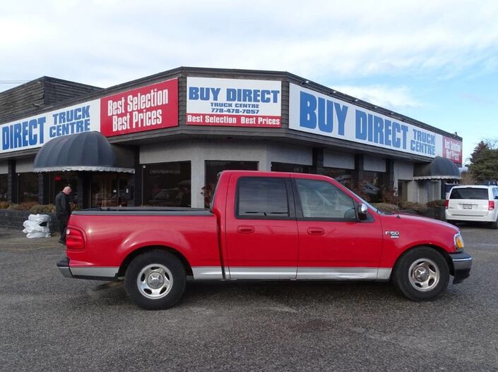 2001 Ford F-150 SuperCrew XLT Crewcab 5.4L V8 Hitch/Tow, Cruise Control, Leather Seats Kelowna BC