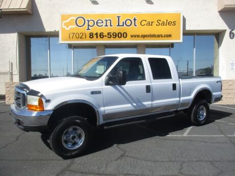 2001 Ford F-250 SD XLT Crew Cab Long Bed 4WD Las Vegas NV