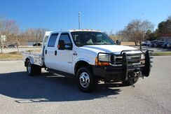2001_Ford_Super Duty F-350 DRW_XLT Crew Cab 7.3L Turbo Diesel 4WD DRW Flatbed Truck 4x4_ Knoxville TN