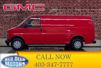 2001_GMC_Savana_G1500 SL Cargo Van_ Red Deer AB