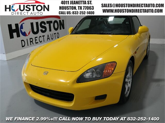 2001 Honda S2000 Base Houston TX