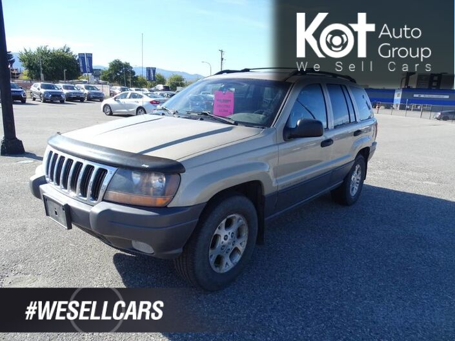 2001 Jeep Grand Cherokee Laredo Kelowna BC