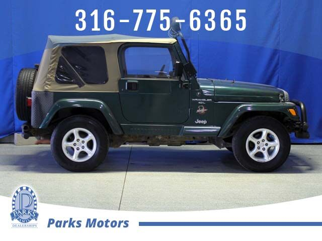 2001 Jeep Wrangler Sahara Wichita KS