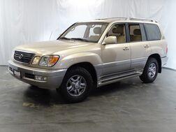 2001_Lexus_LX 470_AWD 4.7L V8 Engine / Sunroof / 3rd Row Seats / Rear View Camera / Bluetooth_ Addison IL