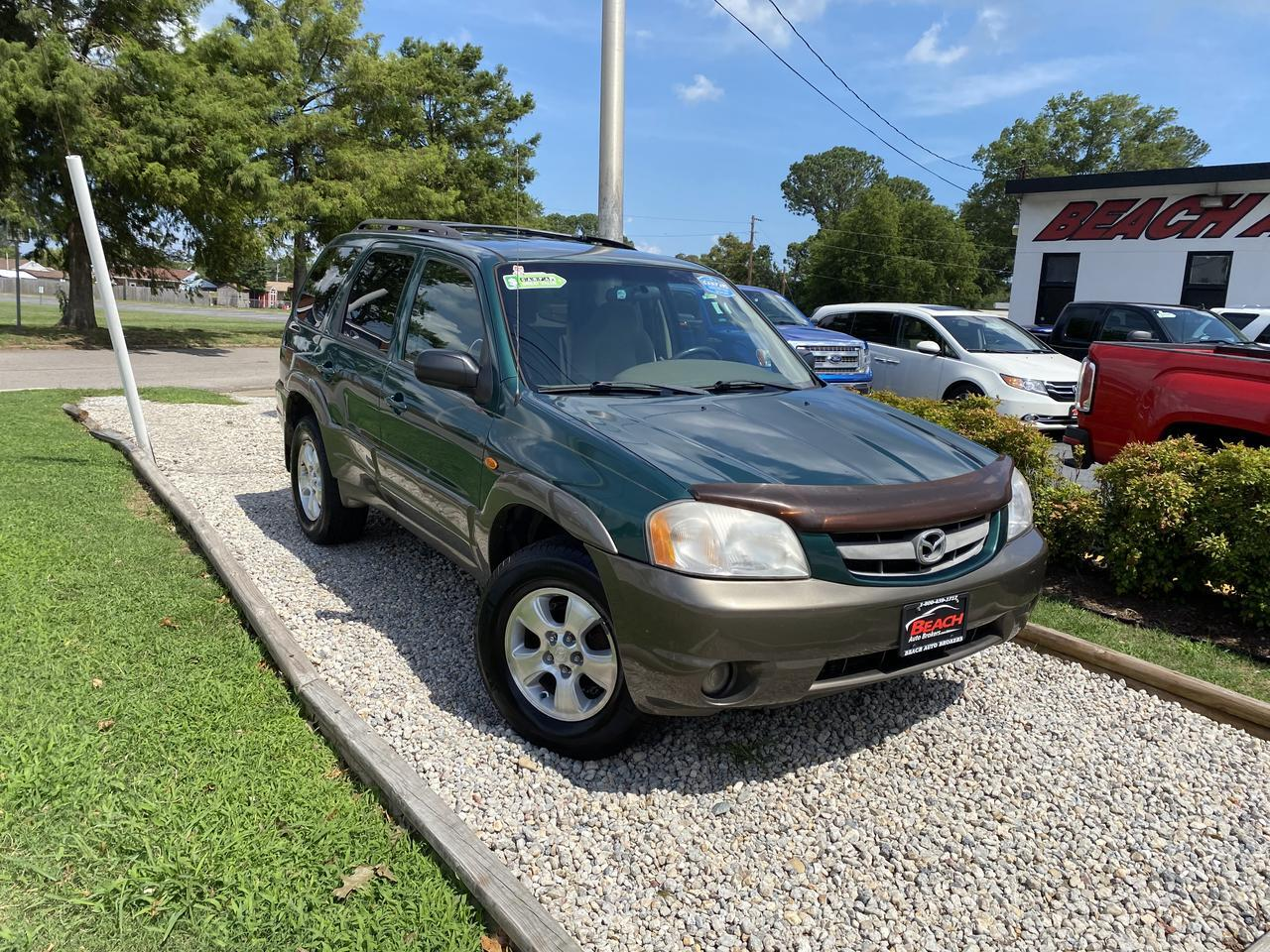 2001 MAZDA TRIBUTE LX 4X4, WHOLESALE TO THE PUBLIC, SINGLE CD PLAYER, A/C, CRUISE CONTROL, ROOF RACKS, CLEAN CARFAX! Norfolk VA