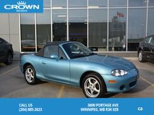 2001_Mazda_MX-5 Miata_2dr Conv Auto_ Winnipeg MB