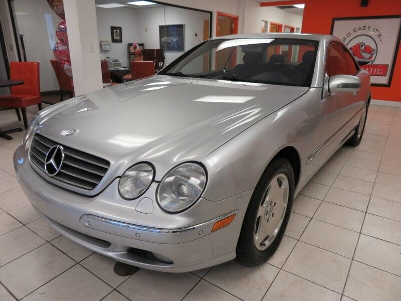 2001 Mercedes-Benz CL-Class Coupe