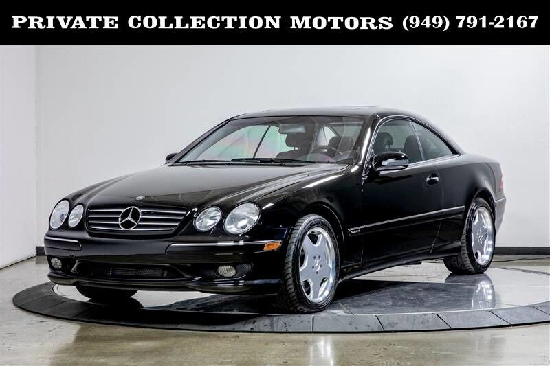 2001_Mercedes-Benz_CL600_CL-Class CL600 1 Owner Immaculate_ Costa Mesa CA