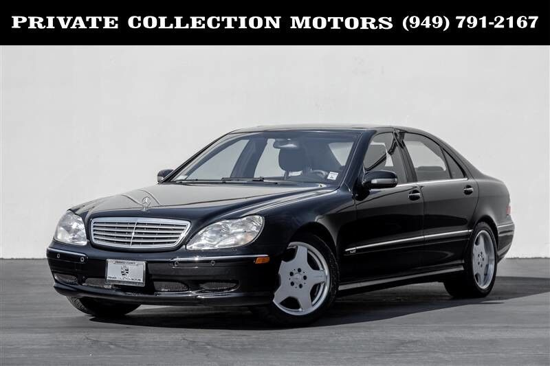 2001_Mercedes-Benz_S-Class_S600 2 Owner Fresh Service_ Costa Mesa CA