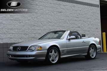 2001_Mercedes-Benz_SL500__ Willow Grove PA