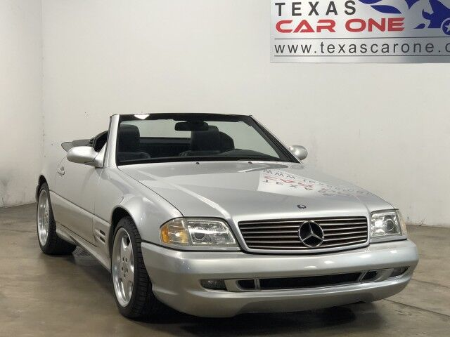2001 Mercedes-Benz SL500 REMOVABLE HARDTOP LEATHER HEATED SEATS AUTOMATIC CLIMATE CONTROL Carrollton TX