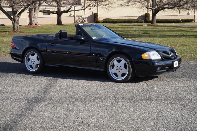 2001 Mercedes-Benz SL600 V12 - 427 Miles Lodi NJ