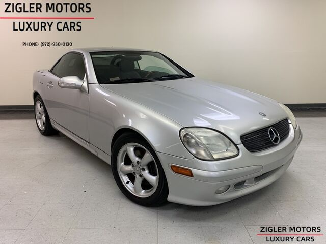 2001 Mercedes-Benz SLK-Class 3.2 V6 One Owner 6-Speed Manual Clean Carfax! Addison TX