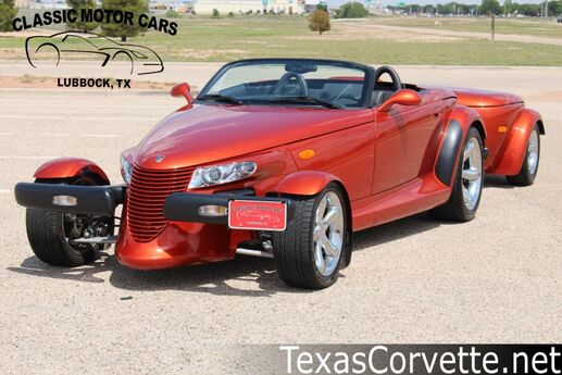 2001 Plymouth Prowler  Lubbock TX