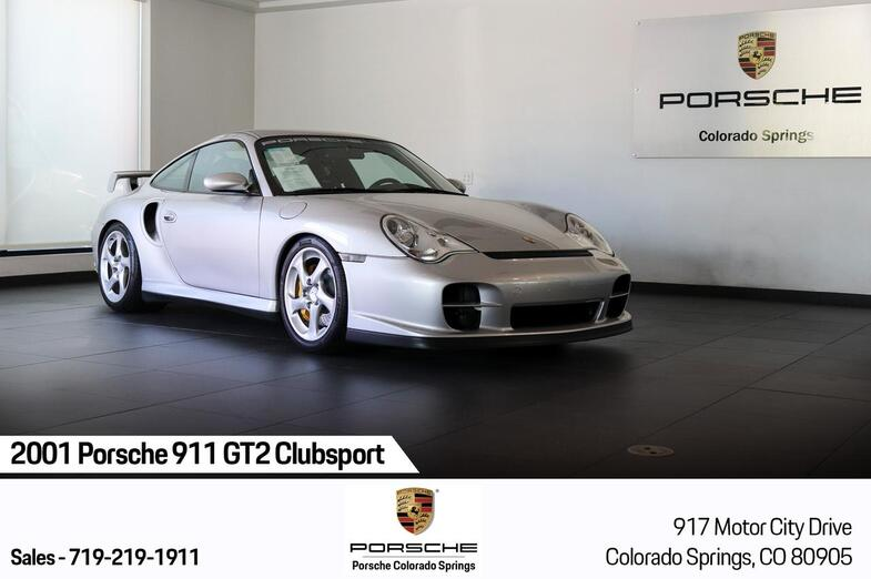 2001 Porsche 911 GT2 Clubsport Colorado Springs CO