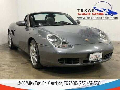 2001 Porsche Boxster S LEATHER HEATED SEATS CRUISE CONTROL AUTOMATIC CLIMATE CONTROL ALLOY WHEELS Carrollton TX