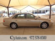 2001_Toyota_Avalon_XLS w/Bucket Seats_ Plano TX