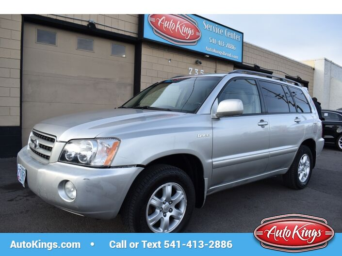 2001 Toyota Highlander Limited V6 4WD Bend OR
