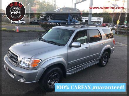 2001_Toyota_Sequoia_4WD SR5 w/ Convenience Pkg_ Arlington VA