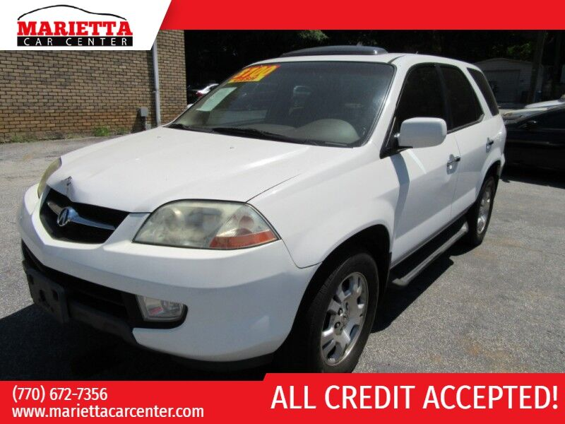 2002 Acura MDX 4dr SUV w/Navigation
